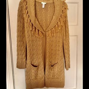 Chico's long cardigan sweater